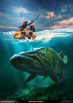 Fish illustrations that I did for a known fishing tackle brand called Savage Gear. The illustrations is being used in their brand profiling and marketing for the products. The result over the last years have been overwhelming, and fans all over the world Pike Fishing, Fishing Tips, Fishing Lures, Fly Fishing, Fishing Tackle, Trout Fishing, Saltwater Fishing, Bowfishing, Sea Monsters