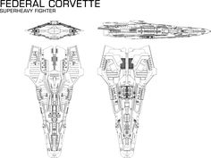 Core Dynamics Federal Corvette from Elite: Dangerous