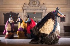 Nick Cave To Unleash 30 Multi Coloured Horses At New York's Grand Central Terminal | Yatzer