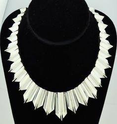 Vintage pineda Taxco Mexican Silver  | Vintage Mexican 970 Silver Antonio Pineda Design Necklace Eagle 121 ...
