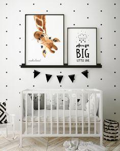 Hello Little One Giraffe - Nursery Wall Art Baby Nursery Decor, Baby Bedroom, Baby Boy Rooms, Baby Boy Nurseries, Nursery Themes, Nursery Room, Nursery Wall Art, Girls Bedroom, Baby Room Art