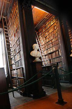 Trinity Library: Dublin, Ireland