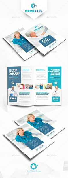 Home Health Care Flyer Templates Flyer template, Health care and - medical brochures templates