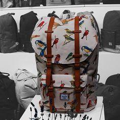 Bird Print backpack by Herschel