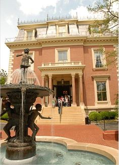 Jefferson City, Missouri.  Governor's Mansion.  Went there while in high school on  a field trip.
