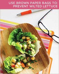 BrightNest | 2X4: Four Kitchen Tricks with a Brown Paper Bag