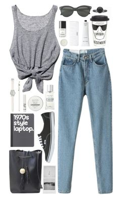 """I am the one who knocks (BlackFive)"" by jellytime ❤ liked on Polyvore featuring Free People, Vans, Pieces, River Island, Conair, Jack Wills, Rodin Olio Lusso, LOFT, J.Crew and Chanel"