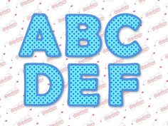 BX format 3 4 5 6   Applique Embroidery Font 328  by elizabethk314