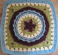 Ravelry: Circle Star pattern by Julie Yeager