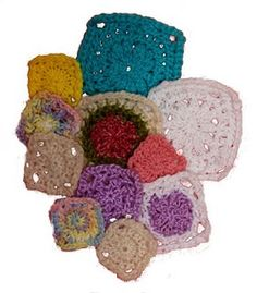 Loom Knitting squares