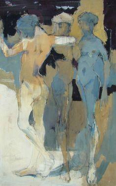 """lilithsplace: """"'Dance' - Eberhard Hueckstaedt (b. 1936) """""""
