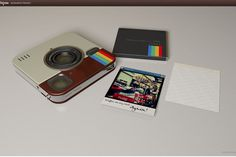 Socialmatic Instagram Camera on Indiegogo! What a fun project - camera and printer in one!