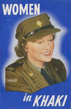 e447c2071e8 41 Best Pre Post WW2 Canadian women s military uniforms images ...