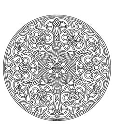 Difficult Mandala Coloring Pages. 30 Difficult Mandala Coloring Pages. Mandala Coloring Page with Multiple Angles Very Difficult Online Coloring Pages, Adult Coloring Book Pages, Flower Coloring Pages, Mandala Coloring Pages, Free Printable Coloring Pages, Free Coloring Pages, Coloring Books, Design Lotus, Celtic Mandala