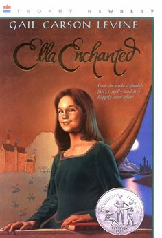 Ella Enchanted... this book started my obsession with reading so I want my niece to read it when she is older