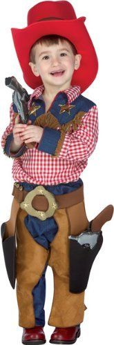 Toddler Texas Cowboy Costume (Size:2-4T) brandsonSale. $49.99