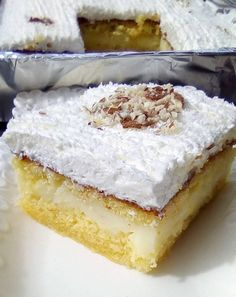 Cookbook Recipes, Cooking Recipes, Greek Recipes, Candy Recipes, Easy Desserts, Vanilla Cake, Breakfast Recipes, Cheesecake, Food And Drink