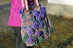 Veľké tašky - Plstená kabelka CHANEL-ka - 5078200_