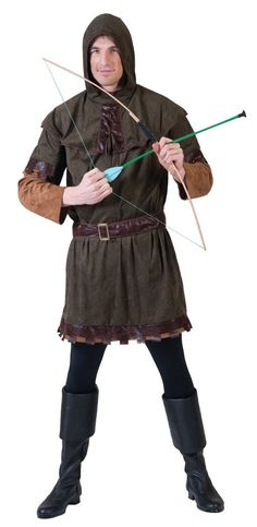 Adult Rowdy Robin Hood Medieval Costume