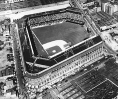 Ebbets Field - home of the Brooklyn Dodgers