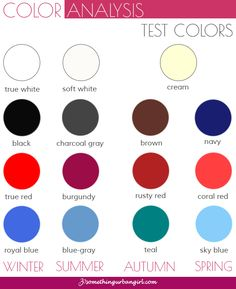 1000+ images about Color Analysis How to Find Your Colors ...