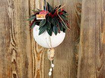 Blumenampel, Windlicht, Schale aus Keramik