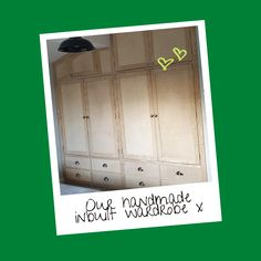 Our inbuilt wardrobe was crafted to fit a sloping ceiling and left unpainted for our customer to add their own decoration 💚 💜 💙 Modern Rustic Furniture, Handmade Furniture, Wooden Furniture, Color Schemes Design, Wood Joinery, Somerset, Rustic Style, Natural Wood, Woodworking