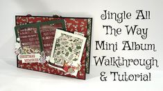Christmas Mini Albums, Christmas Minis, Jingle All The Way, Country Crafts, Simple Stories, Scrapbooks, Projects To Try, Designers, Paper Crafts