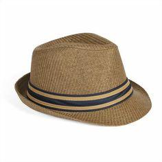 L'accessoire indispensable des vacances ou de vos week-end ! Chapeau de paille bandeau bicolore. #Chapeaupaille; #Homme; #Jules; #Leguide
