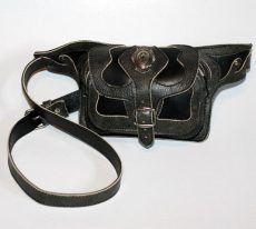 Hasi-tasi bőr övtáska, több színben - leather belt bag Leather Belt Bag, Binoculars, Accessories, Jewelry Accessories