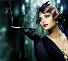 Burlesque Short Hair Styling | The Finger Wave