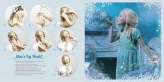 Get the look: Elsa's Icy Braid #Disney #Frozen #DIY #HairTips