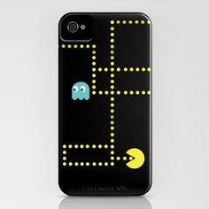 Pacman iPhone Case by Scott Coleman - $35.00