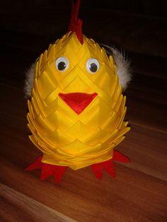 kuře - falešný patchwork