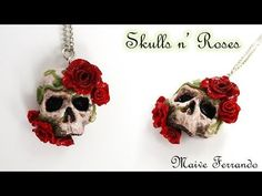 Witch's Must-Haves #3: Skull How to make a miniature skull from polymer clay for your miniature Halloween scenes and decorations. Materials: - Premo Polymer ...