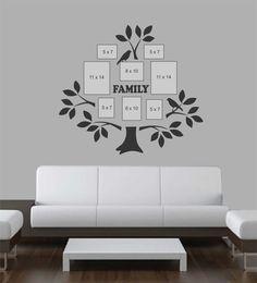 """Moderno /""""o tempo gasto com a família Vale Cada Segundo/"""" Arte de parede decalque adesivo"""