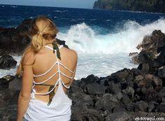 DIY braided shirt
