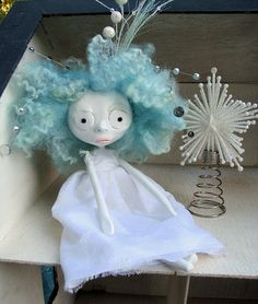 Art Doll  Christmas Eden  for Winter and by MissMillificent, $110.00