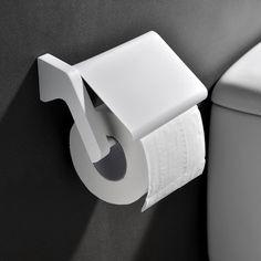 Toilettenpapierhalter Klopapierhalter Rollenhalter WC Papierhalter weiß