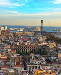 Views Santa Maria del Pi #Barcelona Santa Maria Del Pi, Hotels, Old Street, Spain And Portugal, Famous Places, Roadtrip, City Break, Great View, Strand