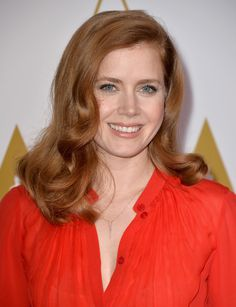 Amy Adams wearing @eliesaab Resort 2014 and @efcollection jewels – 86th Academy Awards Nominees Luncheon #2014