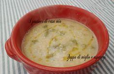 Zuppa+di+miglio+e+asparagi