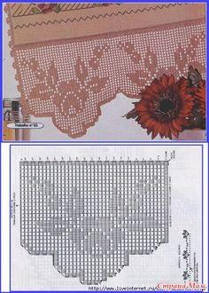 Кайма-20 - Филейное кружево - Страна Мам
