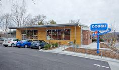 #DOUGH Market Exterior, New Retail #Asheville NC     Form & Function #Architecture