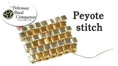 This tutorial from The Potomac Bead Company demonstrates how to use various seed beads to do peyote stitch. Peyote stitch is a bead weaving concept which all...