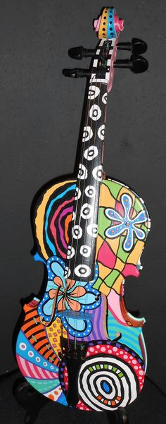 Hey, I found this really awesome Etsy listing at https://www.etsy.com/listing/203280404/hand-painted-violin-painted-violins