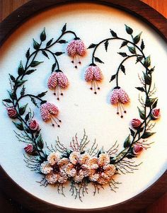 \Frosty Christmas Rose\ Brazilian Dimensional Embroidery Pattern @DKDesignsandrworthey