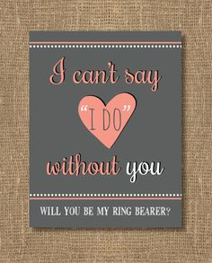 Will You Be My Bridesmaid, Will You Be My Maid of Honor, Bridesmaid Invitation on Etsy, $4.00