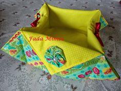 Fada Mimos:   Fiz mais estes dois cestos, um muito colorido pa...