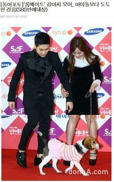 SBS Roommate   Daddy Jackson, Mommy Youngi and Baby Cucumber   SBS Entertainment Awards 2014 12.30.2014